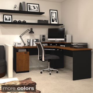 Bestar Hampton Corner Workstation Desk
