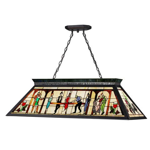 Avery Home Lighting 4-light Billiard - multi