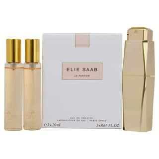 Elie Saab Le Parfum Women's Purse Spray and Refills Gift Set|https://ak1.ostkcdn.com/images/products/8590877/P15862408.jpg?impolicy=medium
