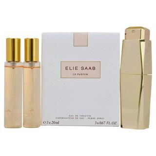 Elie Saab Le Parfum Women's Purse Spray and Refills Gift Set