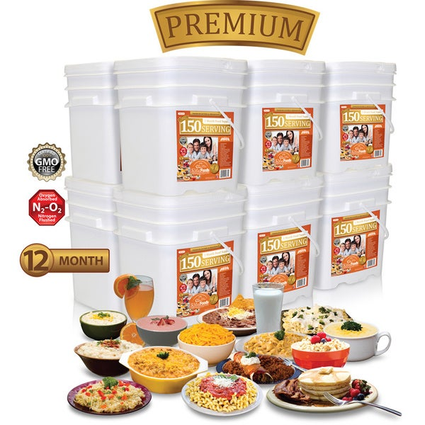 Shop Relief Foods Premium 12 Month Emergency Food Supply