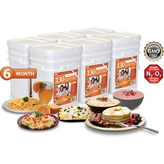 Relief Foods 6 Month Essential Emergency Food Supply (780 Servings)