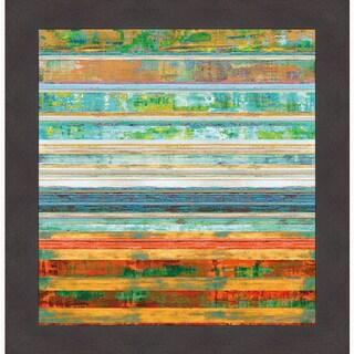 Kevin Misner 'New Lines 1' Framed Art Print