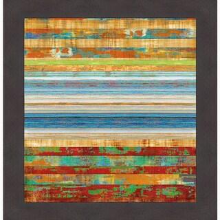 Kevin Misner 'New Lines 2' Framed Art Print
