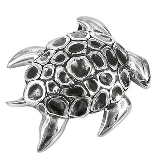 Mythic Ocean Turtle .925 Sterling Silver Pendant (Thailand)