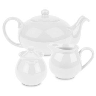 Waechtersbach Fun Factory White 3-piece Tea Set
