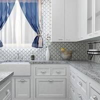 SomerTile 10.5x11-inch Chevron Glossy White Porcelain Mosaic Wall Tile (10 tiles/8 sqft.)