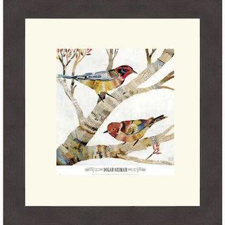 Dolan Geiman 'Warblers II' Framed Art Print