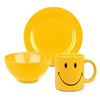 Waechtersbach Smiley Buttercup 3-piece Breakfast Set