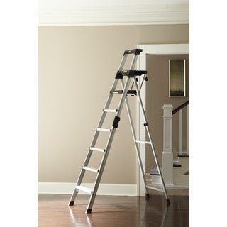 Cosco Signature Series 6 Foot Premium Aluminum Step Ladder