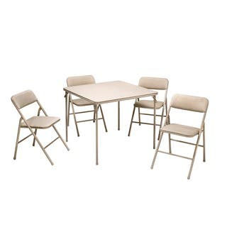 Cosco Folding Table and 5-piece Chairs Set https://ak1.ostkcdn.com/images/products/8591531/P15862915.jpg?impolicy=medium