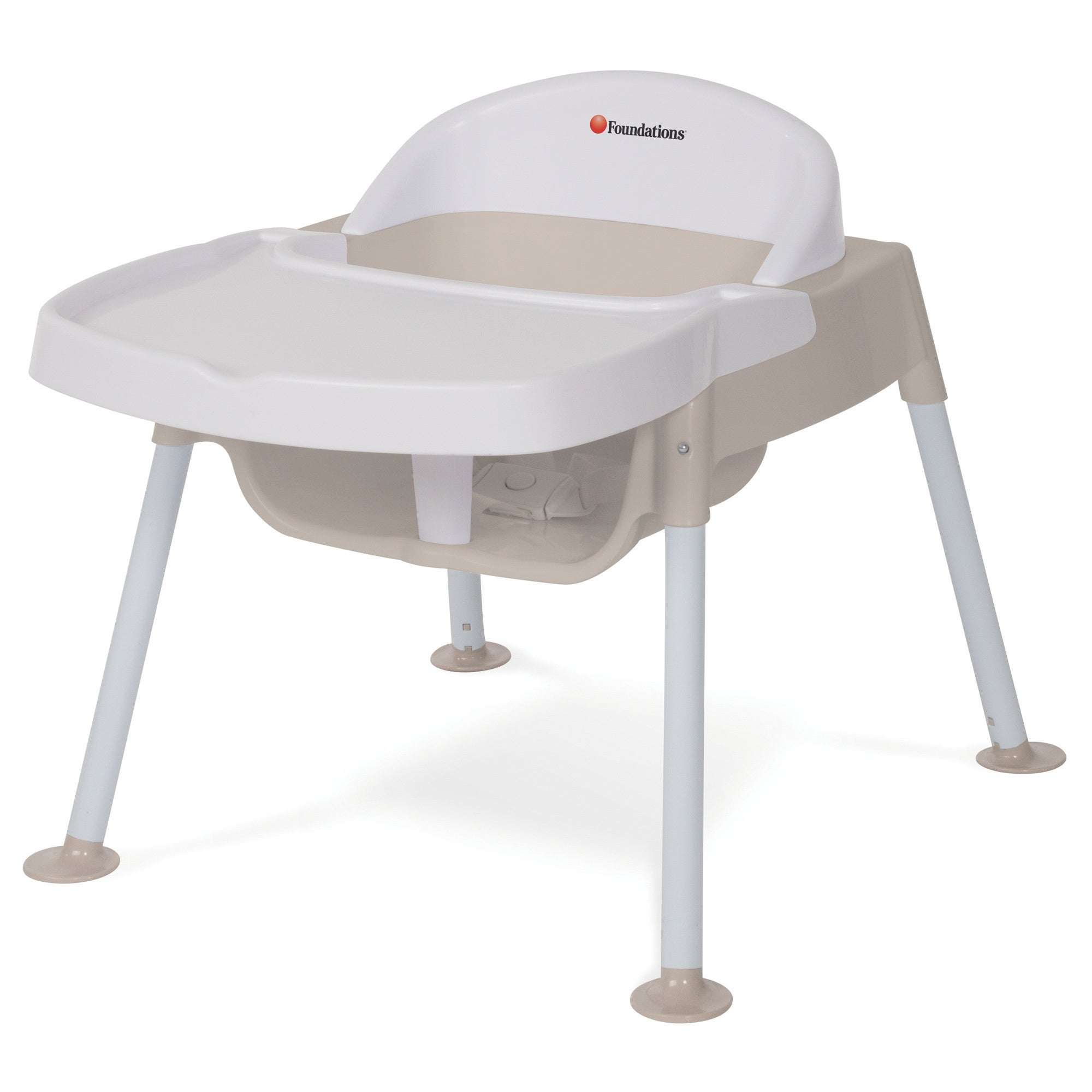 Foundations 9-inch Secure Sitter High Chair (9 Inch), White