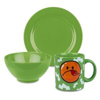 Waechtersbach Smiley Green Apple 3-piece Breakfast Set