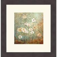 Sokol-Hohne 'Textures IV' Framed Art Print