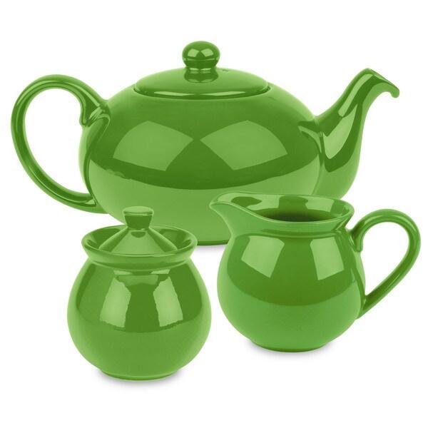 Waechtersbach Green Apple Tea Set