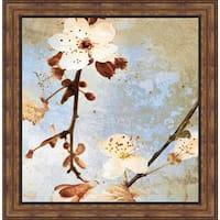 Duealberi A.F. 'Fresh Blossoms I' Framed Art Print