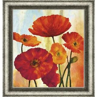 Elise Remender 'Poppy Variation 1' Framed Art Print