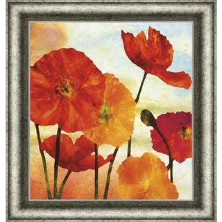 Elise Remender 'Poppy Variation 2' Framed Art Print