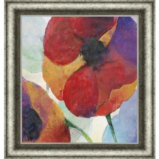 Doug Kennedy 'Poppy I' Framed Art Print