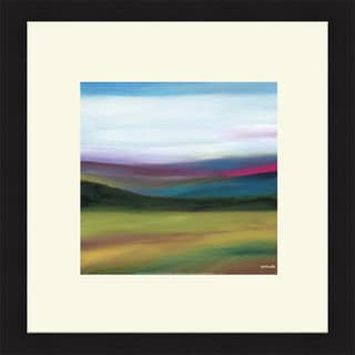 Mary Johnston 'Prairie Abstract 4' Framed Art Print