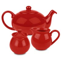 Waechtersbach Red Tea Set