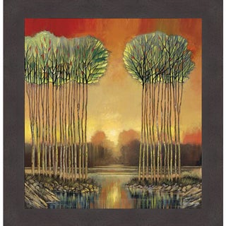 Ford Smith 'Tranquil Embrace' Framed Art Print