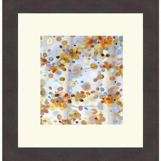 April Willy 'Exuberance II' Framed Art Print