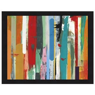 David Bailey 'Timelines 2' Framed Art Print