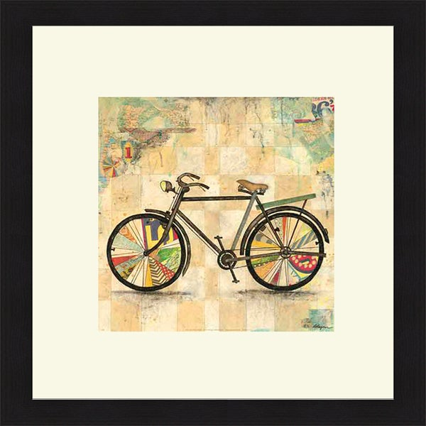 Jennifer Wagner 'Ride 2' Framed Art Print