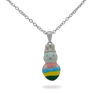 Junior Jewels Children's Easter Bunny Pendant