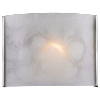 Z-Lite 1-Light Brushed-Nickel Wall Sconce