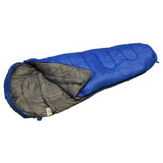 Big River Outdoors Rio 0 Degree Mummy Style Sleeping Bag Brown