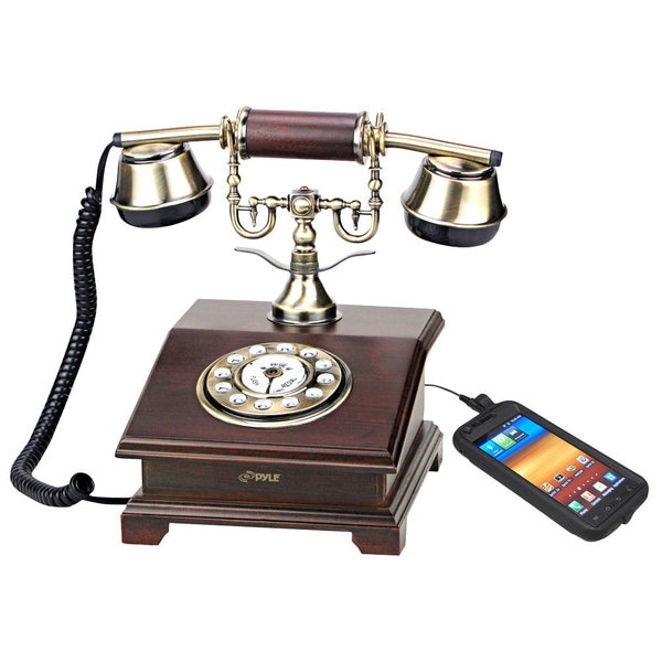Pyle PRT55I Authentic Classical Retro Antique Phone