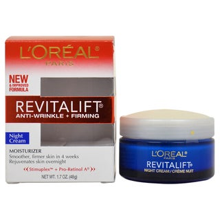 L'Oreal Paris Revitalift Anti-Wrinkle & Firming Moisturizer 1.7-ounce Night Cream