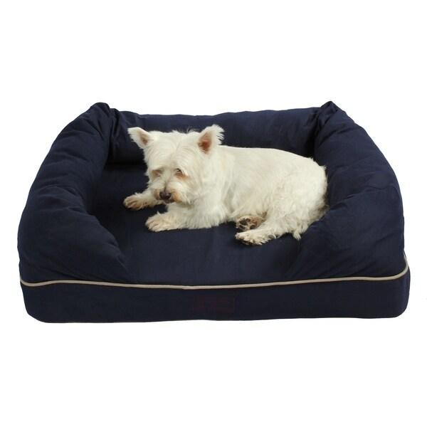 washable 38-inch orthopedic 3d memory foam medium couch pet dog