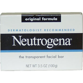 Neutrogena Original Formula Transparent 3.5-ounce Facial Bar