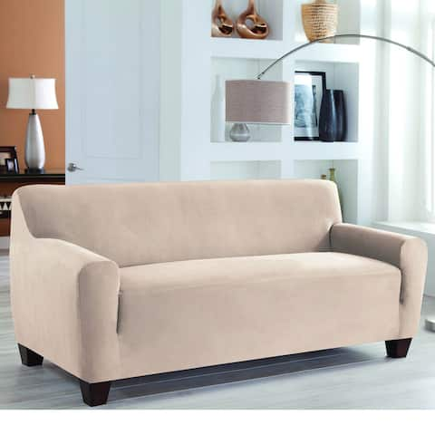 Tailored Solutions Stretch Fit Slipcover One Piece Sofa