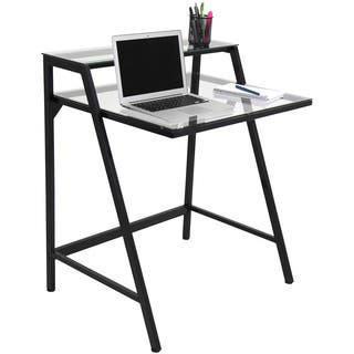 Lumisource desks computer tables for less overstock 2 tier modern computer desk workstation gumiabroncs Choice Image