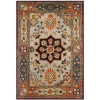 Safavieh Handmade Persian Legend Red/ Rust Wool Rug - 2' x 3'