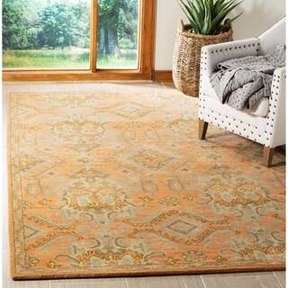 Safavieh Handmade Wyndham Terracotta Wool Rug (2'6 x 4')