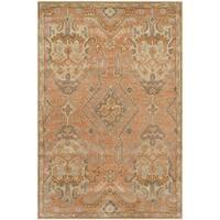 Safavieh Handmade Wyndham Terracotta Wool Rug - 4' x 6'