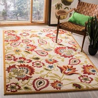 Safavieh Newbury Contemporary Ivory/ Gold Rug - 3' x 5'