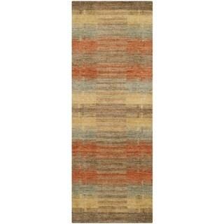 Safavieh Hand-loomed Himalaya Multicolored Wool Rug (2'3 x 6')