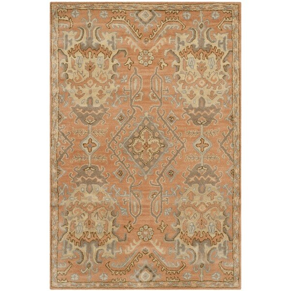 Shop Safavieh Handmade Wyndham Terracotta Wool Rug 8 X