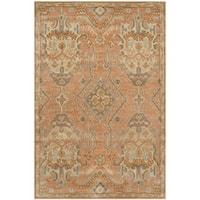 Safavieh Handmade Wyndham Terracotta Wool Rug - 8' x 10'