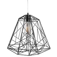 Varaluz Wright Stuff 1-light Black Pendant