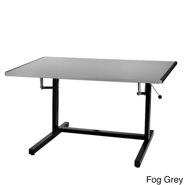 Shop Mayline Dual Adjustable Drafting Desk   Free Shipping Today    Overstock   8594211