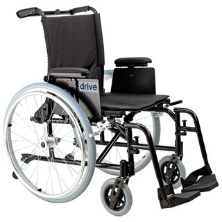 Drive Medical Cougar Ultra Lightweight Rehab Wheelchair