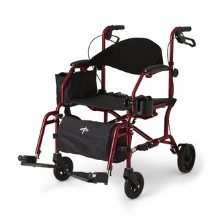 Medline Translator Combination Transport Chair and Rollator
