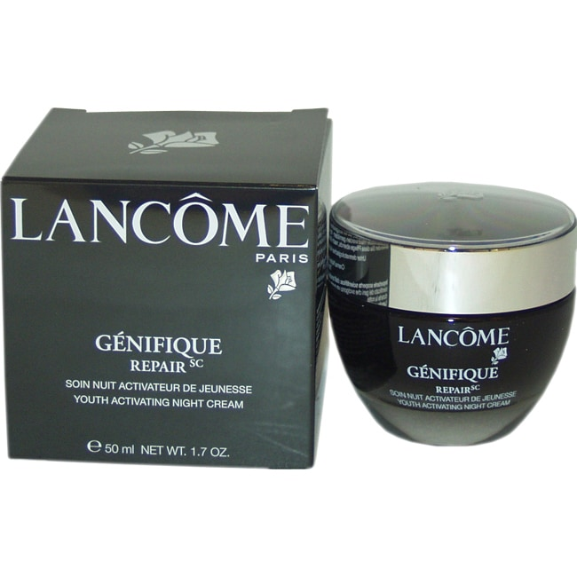 Lancome Genifique Repair 1.7-ounce Youth Activating Night Cream - Brown